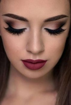 ideas wedding makeup for brown eyes red lips eyeshadow - for . - ideas wedding makeup for brown eyes red lips eyeshadow ideas wedding makeup for brown eyes red lips eyeshadow - for . - ideas wedding makeup for brown eyes red lips eyeshadow - Fall Wedding Makeup, Wedding Makeup For Brown Eyes, Natural Wedding Makeup, Natural Makeup, Red Wedding, Wedding Ideas, Wedding Lips, Wedding Photos, Natural Eyeshadow