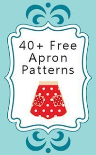 Free Apron Patterns & Tutorials