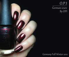 Fashion Polish: Opi Germany collection for Fall Winter 2012 : Part 2