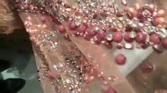 Dentelle Lycra fleurs,tissu dentelle grande largeur, parme. - YouTube