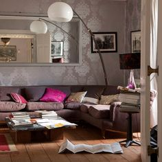 roomenvy - living room wallpaper