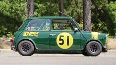 Mini Cooper Classic, Classic Mini, Fiat 500, Race Engines, Classic Sports Cars, Cafe Racers, Mini Me, Sport Cars, Car Pictures