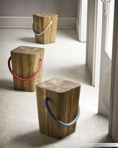 Turning tree stumps into art: 10 extraordinary ideas |  #backyard #garden #trees #wood Great!