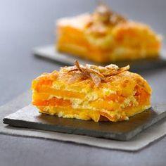 Gratin de potiron et patates douces Pour l'automne..Thanksgiving…Noël…diners fêtes de fin de l'année!!