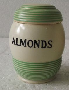 T.G Green 'Streamline' Almonds Jar