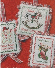 jbw designs cross stitch patterns | JBW Designs - Baby's First Christmas