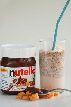 Nutella Captain CrunchMilkshake - Home - burgh baby