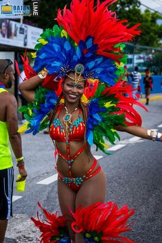 BACCHANAL ROAD MARCH (Jamaica Carnival)