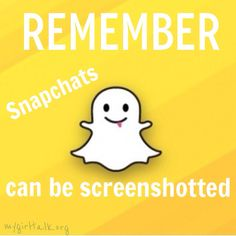 Saying something mean to your BFF on SnapChat? Bad decision. Remember, those can be screenshotted and can hurt! Keep your SnapChat clean! Be drama free! #NoDramaWednesday #SnapChat