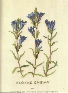 Gallery.ru / Фото #11 - Wild Flowers in Cross-Stitch - Mosca