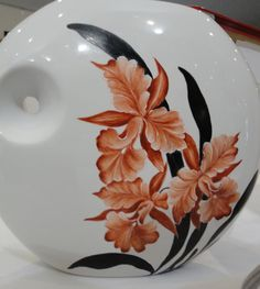 Painted Vases, China Painting, Enamel, Arts And Crafts, Ceramics, Decoration, Tableware, Glass, Nature