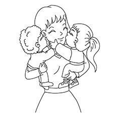 1000 images about coloring pages on pinterest coloring for Mom and baby coloring pages