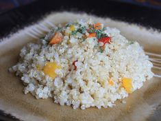 Quinoa with Bell Peppers and Onions Recipe