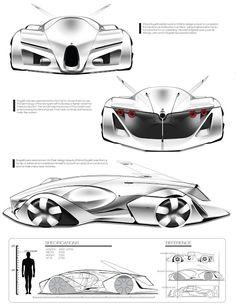 Han,Lee:  Bugatti 100p concept 2015