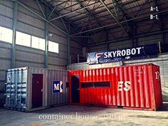 SKY ROBOT 移設完了 #2040JP #SKYROBOT #移設完了 #SKYROBOT神奈川校は東京校へ移転しました #コンテナの設計と製造をしています #コンテナハウス #ContainerHouse #建築確認対応
