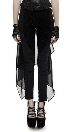 Collants noirs Alluria dentelle motif floral résille sexy burlesque   JAPAN  ATTITUDE - FANTA0008  469fa76313f