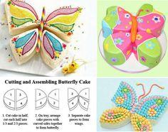 Butterfly Cake Assembly