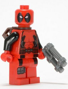 Deadpool LEGO Super Heroes Minifigure