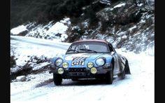 Alpine Renault rallye
