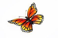 New Listings Daily - Follow Us for UpDates -  Description & Style:  Weiss Monarch Butterfly Brooch - Large Gold Tone setting with Black, Yellow and Orange Enamel #Butterflies Pin - #Vintage 1960s Flying Insect offered by... #vintage #jewelry #teamlove #etsyretwt #thejewelseeker #butterflies ➡️ http://etsy.me/2gnDyz0