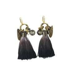 Liz Ombre Fringe Earrings