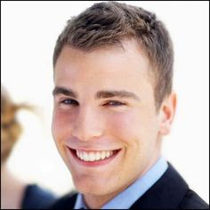 Short Hair | Short hairstyles for men with receding hairline ...