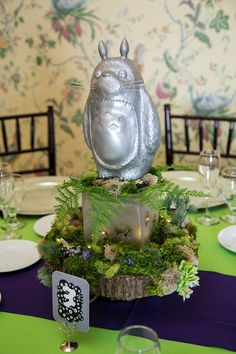 GHIBLIE WEDDING CENTERPIECES