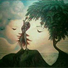 By Otavio Ocampo - Illusion Face