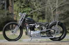 #Custom BSA A65 #Motorcycle by The Factory Metal Works, #USA ~ Featured on Moto Rivista.