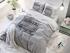 micropercal, 1 person - 140 x 220 cm, 2 personer - 200 x 220 cm, King size - 240 x 220 cm + 2 pudebetræk 60 x 70 cm Dreams Come True, Bed Pillows, Pillow Cases, Plaid, Rustic, Blanket, Bedroom, Design, Glam Style