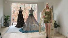 Irakisk kläddesigner startar om i Sverige. Blandar arabiskt och europeiskt. #Kläder #Mode