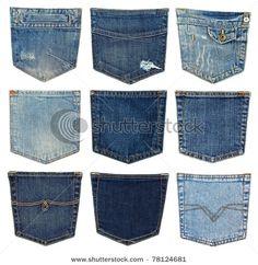 Jeans bolsos on Pinterest