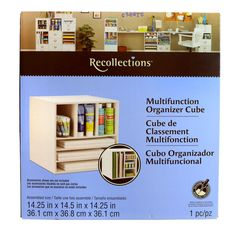Recollections™ Multifunction Cube (cataloging center?)