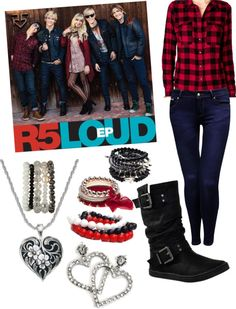 """""""If I were in R5... #LOUD !!!!!!!"""" by geena-arianna-volturi ❤ liked on Polyvore"""