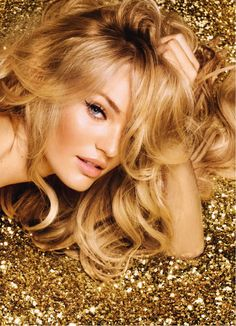 Gold & Glitter | Candice Swanepoel |
