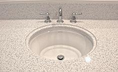 Newly renovated guest bathroom.  Cambria Quartz Stone in Whitney Florida Bath & Surfaces Santa Rosa Beach, FL