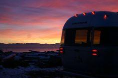 #Airstream at dawn....