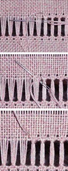 h1>Como hacer un mantel de arpillera, sin coser, muy facil</h1 ...