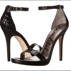 Sam Edelman Eleanor Shoe Brand new in box! Sam Edelman Eleanor sandal in black. Super cute. Goes with so much! Sam Edelman Shoes