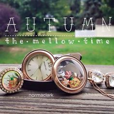 #Autumn + Origami Owl = Love!! https://lucretia.origamiowl.com