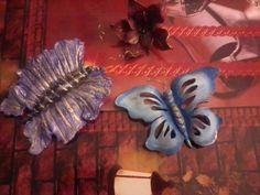 πεταλούδες απο πηλό