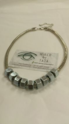 Hard Wear – Two Tone Treasure 2 by WIREDbyTATA on Etsy