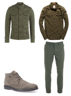"""6"" by nycmoo on Polyvore featuring Superdry, J.Lindeberg, Geox, Dsquared2, men's fashion и menswear"