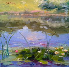 Summer Splendor por Dennis Perrin Petróleo ~ 12 x 12