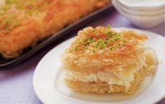 Kunafa - Lebanese dessert pastry