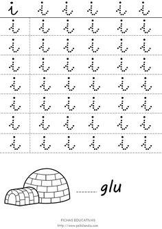 Infantil Columbrianos: Letras