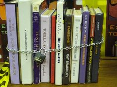 Banned Books from Hot Library Technician