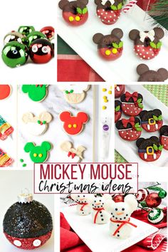 The 20 Best Disney Holiday Ideas for Crafts and Recipes - Celebrate with your favorite Disney characters this holiday season! Here are the best Disney Holiday Craft and Recipe Ideas! Mickeys Christmas Party, Disney Christmas Crafts, Disney Christmas Decorations, Mickey Mouse Christmas, Disney Crafts, Holiday Crafts, Christmas Recipes, Holiday Ideas, Disney Holidays