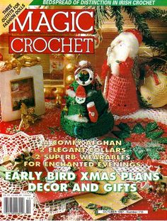 magic crochet magazine, number 110, october 1997, great shape