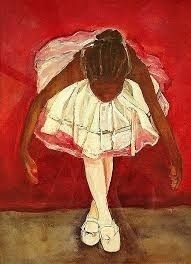 African American Art Painting - Port De Bras Forward by Amira Najah Whitfield Black Art Painting, Black Artwork, Painting Of Girl, Ballerina Painting, Black Girl Art, Black Women Art, Art Girl, African American Art, African Art